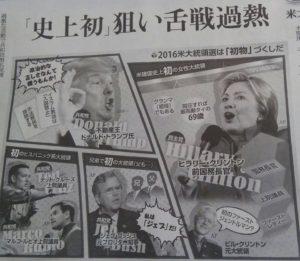 大統領選挙個性