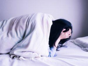 寝起きに不安に襲われる