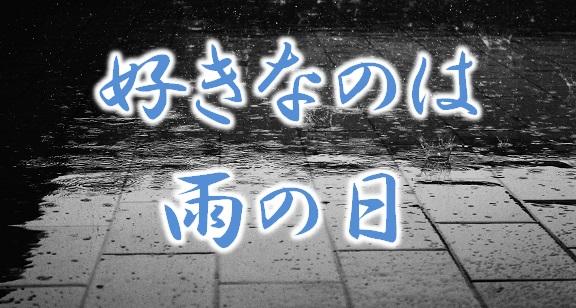 好きなのは雨の日
