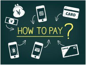 払い方カード